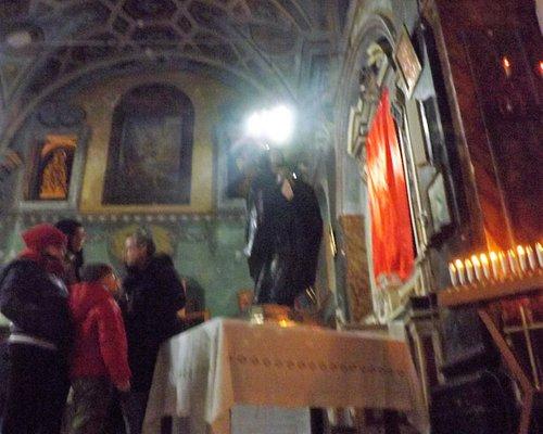 la chiesa del purgatorio si trova nel quartiere fuoriporta, che indicava la zona nuova rispetto