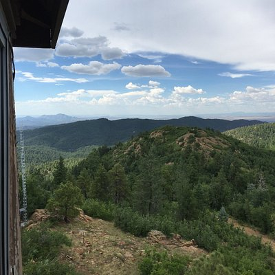 From the cabin on Mount Union Lookout