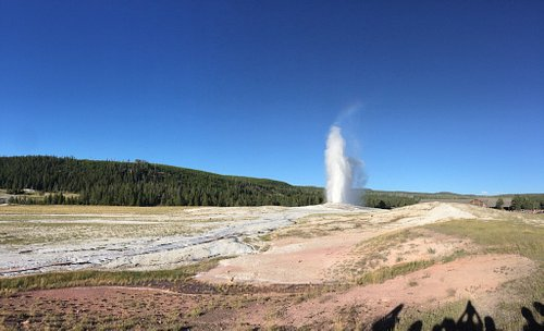 Old Faithful Geyser - July 2016