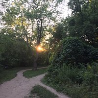 sunset at taylor creek park
