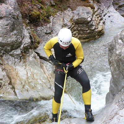 Canyoning Einsteigertour Sylvenstein