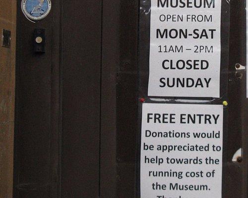 Lambretta Museum, opening times Mon-Sat, 11.00-14.00