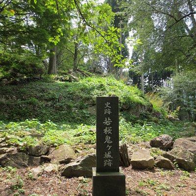 史跡 若桜鬼ヶ城跡(本丸)