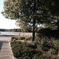 Marathon Beach the the Boardwalk along Lake Nippissing