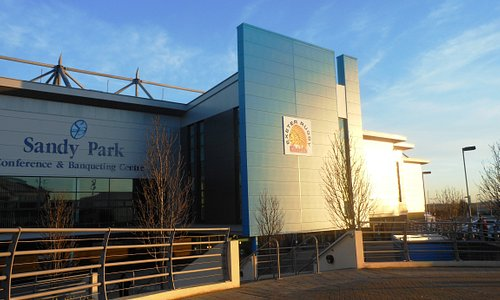 Front of Sandy Park