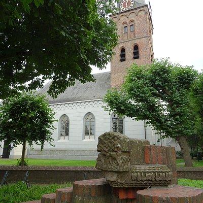Pauluskerk van Baarn uit 1385;july 2016