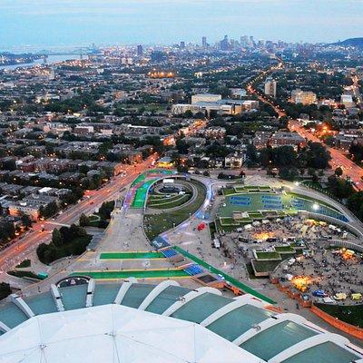 Vista del parque Olympico