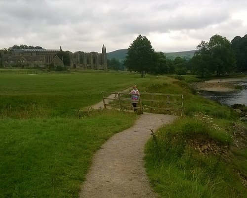 Bolton Abbey stands by the River Wharf.