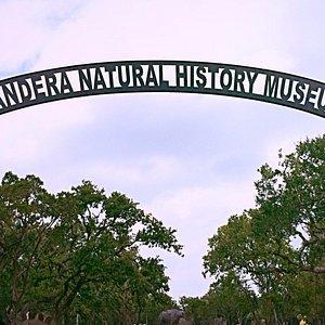 Driveway into the Bandera Natural History Museum