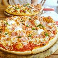 Bacon pizza & more