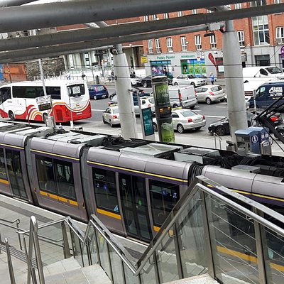 Luas at Connelly Station