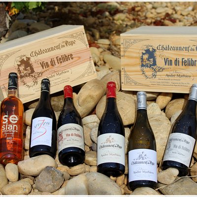 Gamme vins Domaine André Mathieu