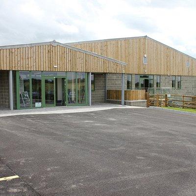 Main entrance to Glenda Spooner Farm Visitor Centre