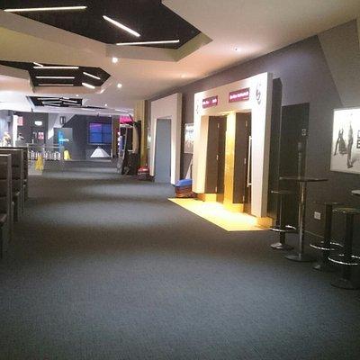 Inside Omniplex Dundonald