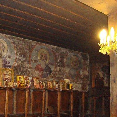 Holy Trinity Church in Bansko, Bulgaria..