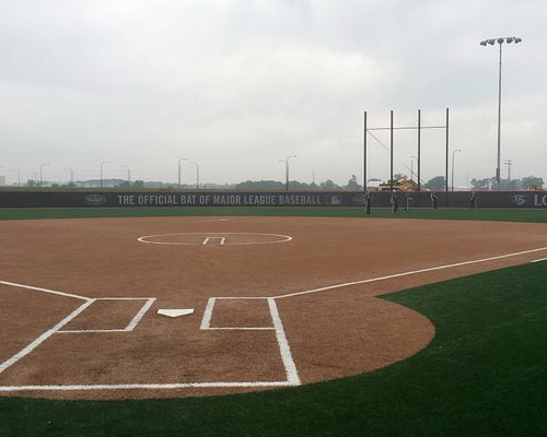 Field 9- This is just one of the many fields located at the Louisville Slugger Sports Complex
