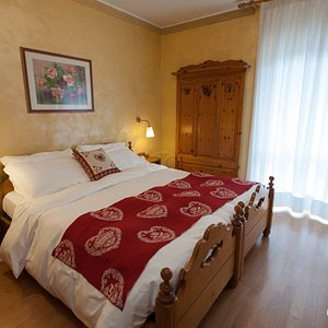 The Double Room at the Hotel Meuble Villa Neve