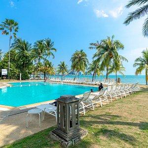 The Pool at The Regency Tanjung Tuan Beach Resort