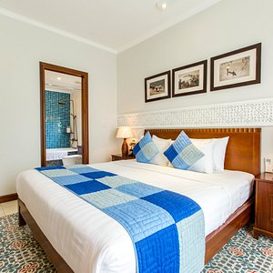 The Deluxe Double Room at the Lantana Boutique Hotel Hoi An