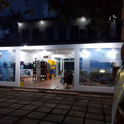 New office by night