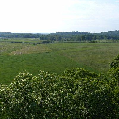 Longstreet Tower - viewing the battlefield