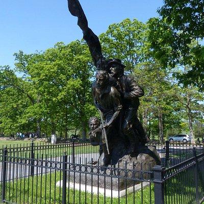 North Carolina Monument at Gettysburg