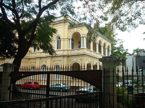 Port Louis Natural History Museum façade