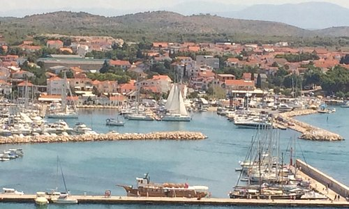 Photo of the Vodice Marina