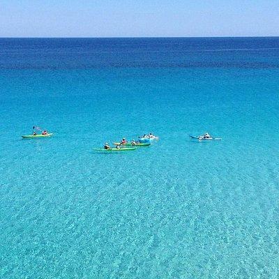 esplorate le isole da un punto di vista privilegiato....il kayak! Un'ora, un giorno, una settima