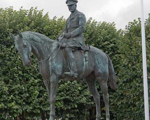 Statue de Douglas Haig par Paul Landowski