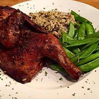 House smoked jerk chicken