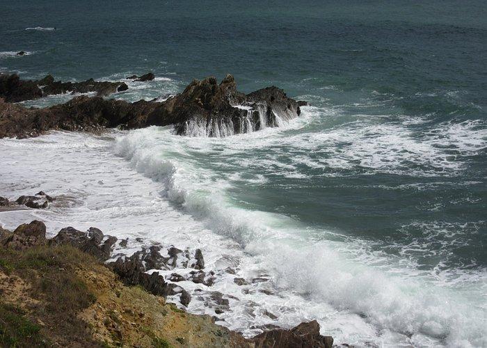 Le spectacle de l'océan