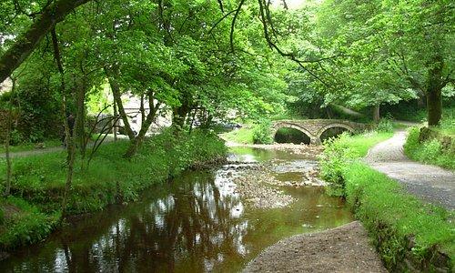 One of the bridges.