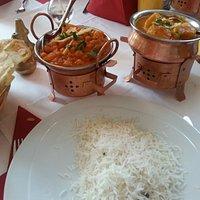 Essen war sehr lecker, auch der Mango-Lassi