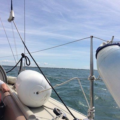 Superbe balade en voilier une bonne découverte grâce à Stéphane très sympathique et intéressant