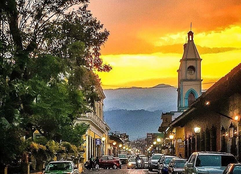 atardecer en Coatepec