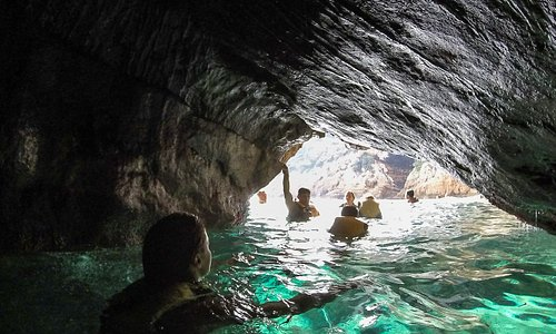 snorkelling during kayak excursion Javea