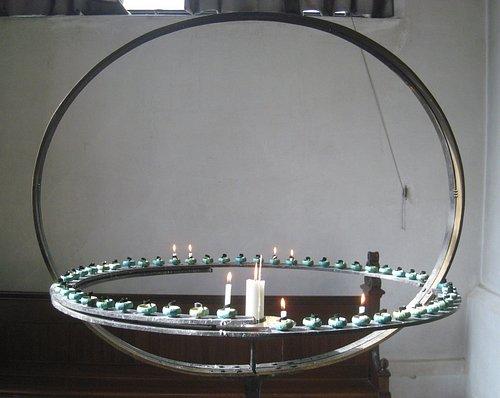 Innovative candle holder