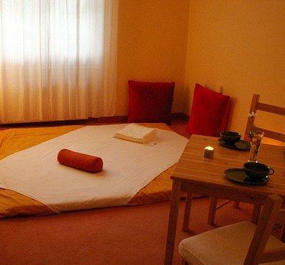Der Shiatsu-Raum von Andrea Schenker