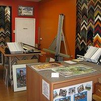Laura's Art Shoppe custom framing