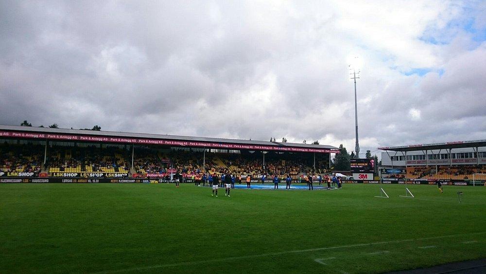 Åråsen Stadion, klar til kamp :-D