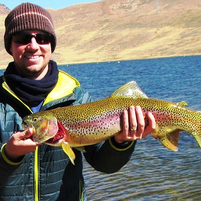 Zac Hood from Denver Colorado. New record in the Lake 03 Ago '16