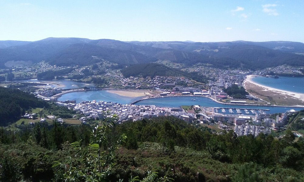 Vistas de la comarca de Vivero