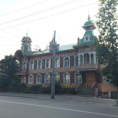 Дом художников. Фасад здания