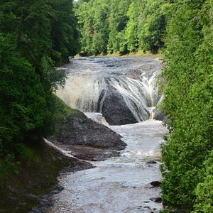 Potawatomi and Gorge Falls