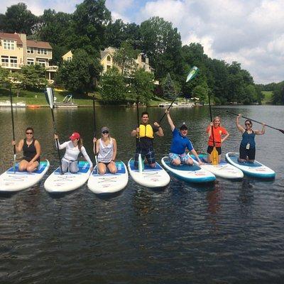 Enjoy paddleboarding near Washington DC