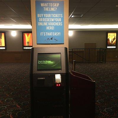 Automated ticket kiosk