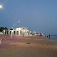 Paseo Maritimo Huelva août 2016