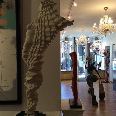 Amazing interactive sculptures