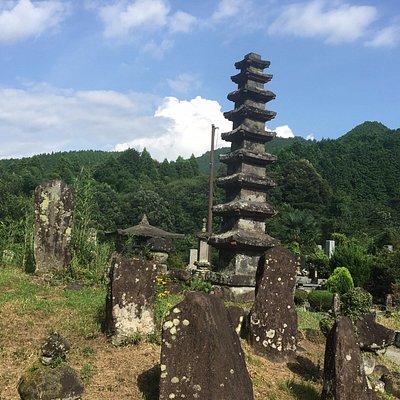 並存する九重の塔